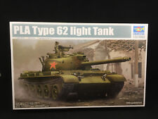 Trumpeter Chinese PLA Type 62 Light Tank 1:35 Scale Model Kit 05537 NIB