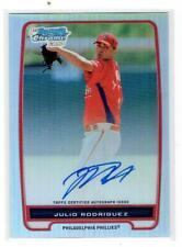 Julio Rodriguez - 2012 Bowman Chrome Refractor #BCP101 451/500 - Autographed