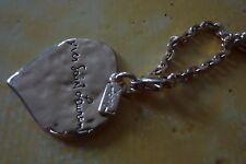 Porte clef coeur Yves Saint Laurent