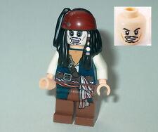 PIRATES OF THE CARIBBEAN #05 Lego Capt. Jack Sparrow Skeleton Face Genuine 4181