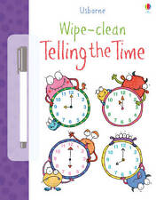 Usborne Wipe - Clean Telling The Time