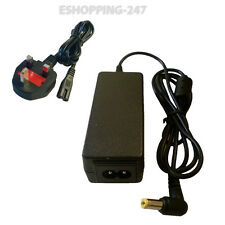 19V Adaptor Charger For E-Machines eMachines 350 EM350 + POWER CORD I129