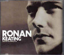 Ronan Keating-When you Say nothing at all Promo cd single