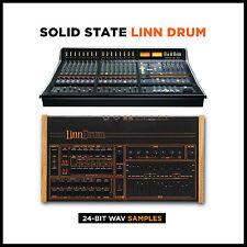 Linn Drum Pro Studio SSL High Quality WAV Samples (24-bit & 16-bit)