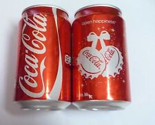 COCA COLA can HONG KONG 330ml Coke 2012 CHRISTMAS XMAS Open Happiness HK