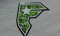 "FAMOUS STAR, Skateboard Sticker, Very Cool, 4-1/2"" x  3-3/4"""