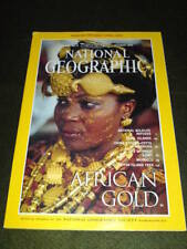 NATIONAL GEOGRAPHIC - AFRICAN GOLD - Oct 1996 Vol 190 #4