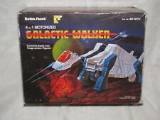 Vintage Radio Shack Galactic Walker Box Transformer Space Man Toy Robot Voltron
