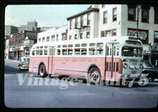 Duplicate Slide Bus Gm 306 Queens Nasaau Transit New York City 1950'S