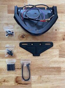 Buell Lightning Tail Mod LED light XB9S/12S bolt on w/plate mount
