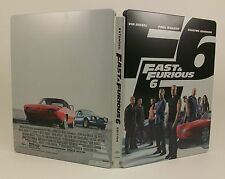 STEELBOOK Fast and Furious 6 Lightly Used Blu-Ray Region All