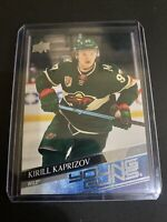 2020-21 UD SERIES 2 KIRILL KAPRIZOV YOUNG GUNS RC WILD #451 Perfect Condition