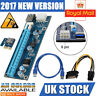 5 pcs 1x To 16x Extender Riser USB 3.0 Power Cable Bitcoin Card Adapter PCI-E