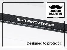 Autocollants / Protections pour seuils de porte Dacia Sandero Stepway CARBON