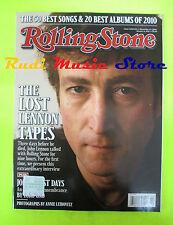ROLLING STONE USA MAGAZINE 1121/2010 John Lennon Ledy Gaga Will.I.Am  No cd