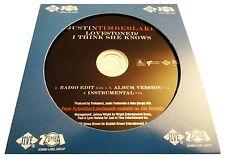 Justin Timberlake LOVESTONED / I THINK SHE KNOWS (Promo Maxi CD Single) (2007)