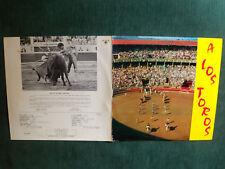A LOS TOROS, Jumelage Bayonne-Pampelune LP 33T AGORILA AG 70-13 Bayona Pamplona