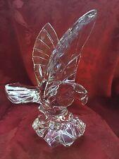 FLAWLESS Exceptional VAL ST. LAMBERT DE SOISS Crystal EAGLE HAWK BIRD Sculpture