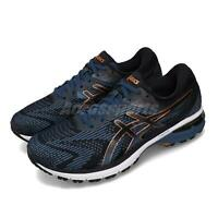 Asics GT-2000 8 4E Extra Wide Blue Black White Men Running Shoes 1011A688-400