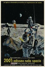 2001 A Space Odyssey POSTER Stanley Kubrick Sci Fi Classic ITALIAN -  HAL 9000