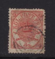 stamp Denmark    number cancel