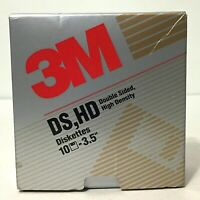 Lot Of 11 Vintage 90s New 3M Double Sided High Density 3.5 Inch Diskettes Disks