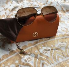 Tory Burch Aviator Sunglasses TY6010 420/13 57 14 135 2N  Bag & Case Included