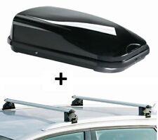 Dachbox FL320L+Dachträger CRV107A für Lexus RX 5Türer ab 16