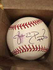 Jake Peavy Autographed Basbeball