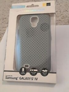New Case Logic Gray Durable Protective Case For Samsung Galaxy IV