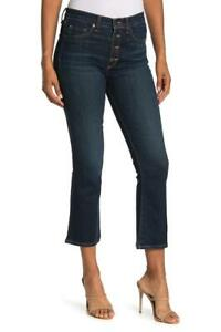 $278 - VERONICA BEARD Carolyn High Rise Baby Bootcut Midnight Jeans 27