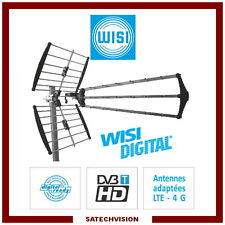 Antenne UHF Trinappes WISI EB55 LTE 470 - 790 MHz C21 à C60 Gain 15,5 dB