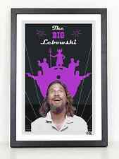 The Big Lebowski movie poster print