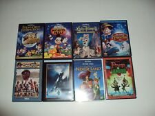 Disney Pinocchio-BedknobsAnd Brommsticks-Mickey Treats-Prep&landing 8 Dvds