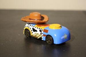 Toy Story Disney Racers Woody   Die Cast Race Car   Pixar Toy Story - Disney
