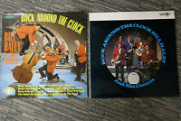 BILL HALEY AND HIS COMETS ROCK AROUND THE CLOCK 2 ALBUMS BOTH EXCELLENT