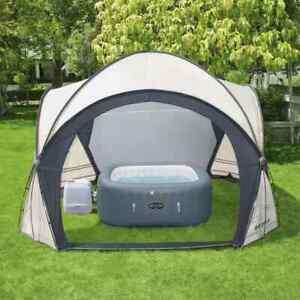 Bestway Lay-Z-Spa Kuppelzelt für Whirlpools Pavillon Poolzelt Gartenpavillon
