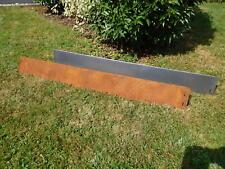 10 meter Garden Edging Boder Corten Steel Metal Driveway 18 cm high