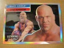 2006 Topps WWE Heritage Chrome REFRACTOR KURT ANGLE TNA