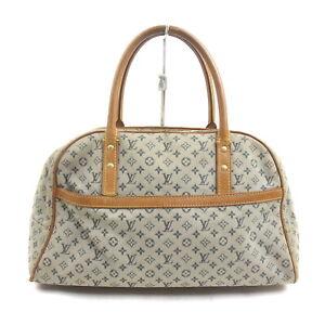 Louis Vuitton LV Hand Bag M92003 Marie Navy Blue Monogram Mini lin 1534693