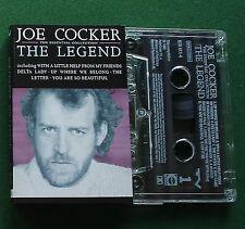 Joe Cocker The Legend inc Delta Lady / Up Where We Belong + Cassette Tape TESTED