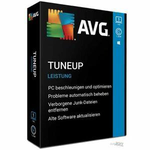 AVG PC TuneUp 2020-2021 2 PC / 1 Jahre / Vollversion Lizenz Deutsch