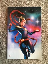 Infinity Countdown 1 Adi Granov Virgin Variant w/ Captain Marvel Brie Larson NM