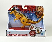Jurassic World Pachycephalosaurus Bashers & Biters Dinosaur Figure from Hasbro