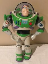 "Disney Toy Story Talking Buzz Lightyear 11"" Action Figure Hasbro Sounds Lights"