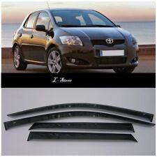 For Toyota Auris 5d 2007-2012 Side Window Visors Sun Rain Guard Vent Deflectors