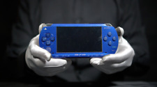 SONY Playstation PSP 1000 Console Blue Bundle - 'The Masked Man'