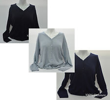 Ladies  Cashmere Cardigans  Sweater 100% Pashmina Girl's Womens Jumper Cardigans