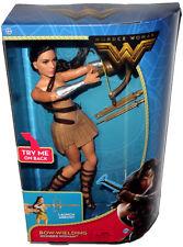 Bow-Wielding Wonder Woman Movie Doll Action Figure MIB DC Comics Gal Gadot FDF38