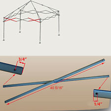 Coleman New Style 10' x 10' Shelter Canopy Gazebo SIDE TRUSS Bar Part 40 5/16""